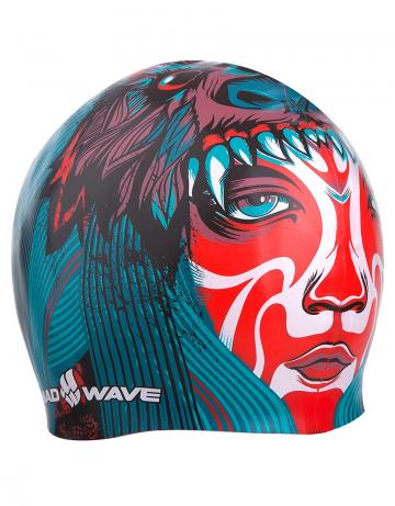 Силиконовая шапочка для плавания TRIBEСиликоновые шапочки<br>Силиконовая шапочка Mad Wave TRIBE с оригинальным и ярким рисунком. Легко надевается и снимается, хорошо обтягивает голову, не сползает во время тренировок. <br>Надежно защищает волосы и кожу головы от воздействия хлорированной воды в бассейне, обеспечивает безопасность во время плавания, защищая от попадания волос в глаза и под детали очков или купальника, сохраняет цвет, форму и высокую эластичность на протяжении всего срока службы. Подходит как взрослым, так и подросткам от 12 лет.<br><br>Цвет: Красный