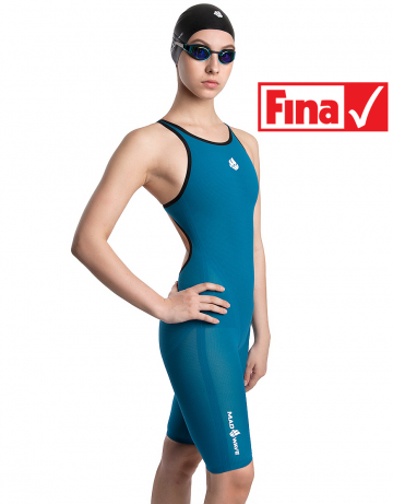 Женский гидрокостюм для плавания Forceshell Women open back. Производитель: Mad Wave, артикул: 10017843