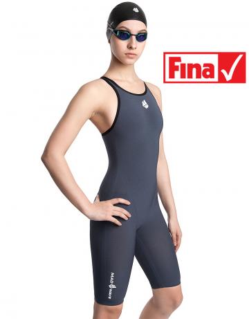 Mad Wave Женский гидрокостюм для плавания Carbshell Women open back M0264 02 10 17W