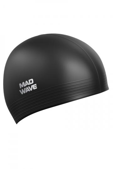 Латексная шапочка для плавания SolidЛатексные шапочки<br><br><br>Цвет: Черный