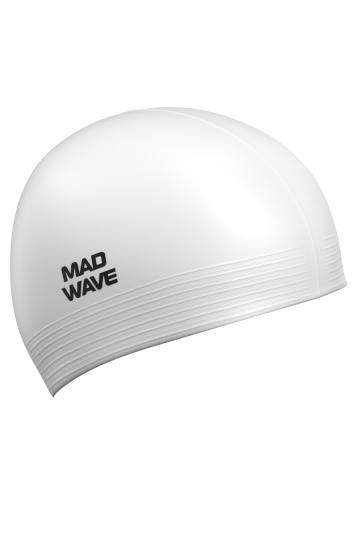 Латексная шапочка для плавания SolidЛатексные шапочки<br><br><br>Цвет: Белый