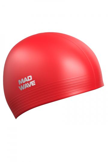 Латексная шапочка для плавания SolidЛатексные шапочки<br><br><br>Размер: None<br>Цвет: Красный