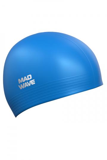 Латексная шапочка для плавания SolidЛатексные шапочки<br><br><br>Цвет: Синий