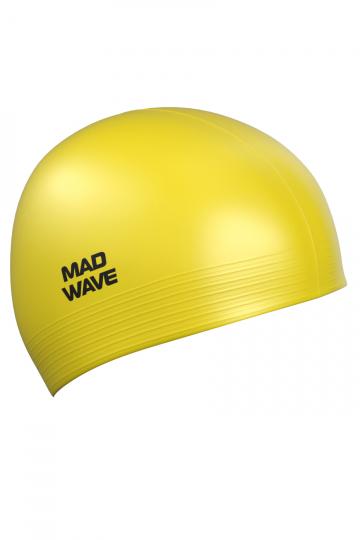 Латексная шапочка для плавания SolidЛатексные шапочки<br><br><br>Цвет: Желтый