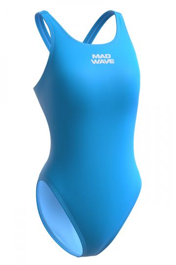 Детский купальник Lada lining juniorЮниорские купальники<br>Купальник слитный с эргономичным кроем спины Techno Back.  Модели из светлой ткани спереди на подкладке. Вырез бедра высокий. Серия ткани Training. Модель идеально подходит для частых трениковок.<br><br>Размер INT: M<br>Цвет: Голубой