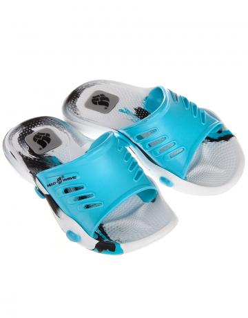 Детские тапочки для бассейна и пляжа STANDART IIДетская обувь<br>Юниорские тапки для бассейна.<br><br>Размер RU: 28-29<br>Цвет: Голубой