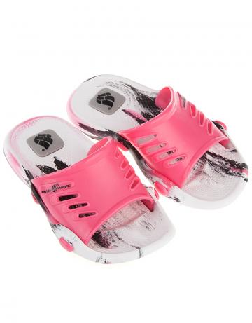 Детские тапочки для бассейна и пляжа STANDART IIДетская обувь<br>Юниорские тапки для бассейна.<br><br>Размер RU: 28-29<br>Цвет: Розовый