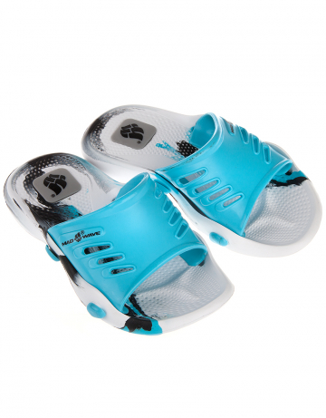 Детские тапочки для бассейна и пляжа STANDART IIДетская обувь<br>Юниорские тапки для бассейна.<br><br>Размер RU: 30-31<br>Цвет: Голубой