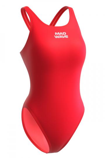 Купальник антихлор для бассейна Lada liningКупальники антихлор<br>Купальник слитный c эргономичным кроем спины Techno Back. Модели из светлой ткани спереди на подкладке. Вырез бедра высокий. Серия ткани Training. Модель идеально подходит для частых тренировок.<br><br>Размер INT: M<br>Цвет: Красный