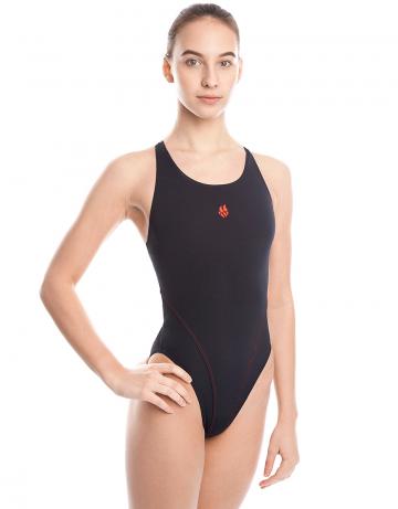 Детский купальник REACTION JuniorЮниорские купальники<br>Купальник слитный с эргономичной спиной Active Back. Модели из светлой ткани спереди на подкладке. Вырез бедра высокий. Серия ткани Training. Идеально подходит для частых тренировок.<br><br>Размер INT: M<br>Цвет: Черный