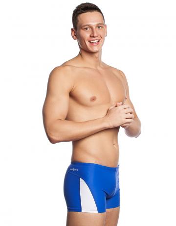 Мужские плавки-шорты COACHПлавки-шорты<br>Плавки-шорты со средним уровнем талии. Внутри шнурок. Высота бокового шва - 25 см. Модель подходит для занятий в бассейне и пляжного отдыха.<br><br>Размер INT: XS<br>Цвет: Синий