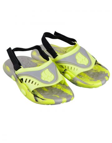 Детские тапочки для бассейна и пляжа FlopДетская обувь<br>Детские тапки со съемным задним ремнем. <br>Верх -ПВХ/Подошва - ПВХ.<br><br>Размер: 29<br>Цвет: Серый