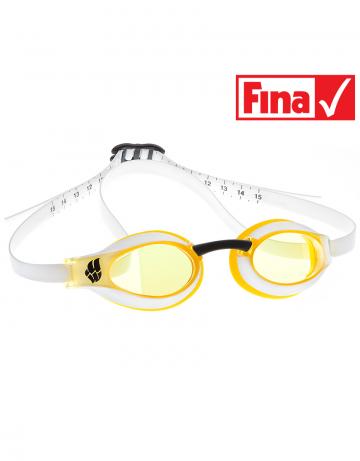 Стартовые очки X-LOOKСтартовые очки<br>Инновационная технология расширенного бокового обзора, идеальная посадка для максимальной надежности и комфорта, а также превосходные гидродинамические характеристики объединены в одной из лучших моделей стартовых очков Mad Wave -  X-LOOK. Ощутите все их преимущества в самые ответственные моменты!<br><br>Очки X-LOOK сертифицированы федерацией FINA для участия в международных соревнованиях.<br><br>ОСОБЕННОСТИ:<br><br><br>Особая конструкция линз - ультраширокий боковой обзор;<br>Настраиваемый силиконовый ремешок с делениями - надежная и быстрая фиксация очков;<br>Низкопрофильный обтюратор - обеспечивает надежную посадку и повышает гидродинамические свойства;<br>4 сменные носовые перемычки - очки подходят для любого типа лица;<br>Защита UV - защита от ультрафиолета;<br>Покрытие Антифог - защита от запотевания;<br>FINA approved - очки сертифицированы федерацией FINA для участия в международных соревнованиях.<br><br>Цвет: Желтый