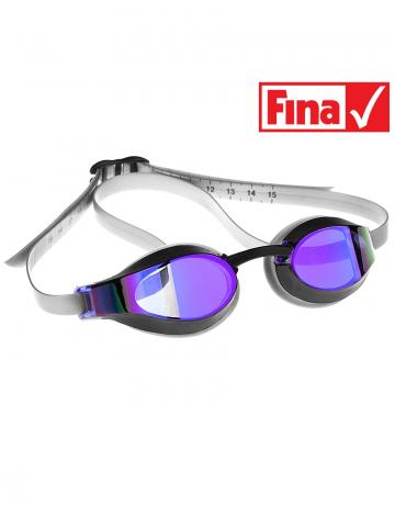 Стартовые очки X-LOOK rainbowСтартовые очки<br>Инновационная технология расширенного бокового обзора, идеальная посадка для максимальной надежности и комфорта, а также превосходные гидродинамические характеристики объединены в одной из лучших моделей стартовых очков Mad Wave -  X-LOOK Rainbow. Ощутите все их преимущества в самые ответственные моменты!<br><br>Очки X-LOOK сертифицированы федерацией FINA для участия в международных соревнованиях.<br><br>ОСОБЕННОСТИ:<br><br><br>Покрытие Rainbow - усовершенствованный дизайн и дополнительная защита от бликов;<br>Особая конструкция линз - ультраширокий боковой обзор;<br>Настраиваемый силиконовый ремешок с делениями - надежная и быстрая фиксация очков;<br>Низкопрофильный обтюратор - обеспечивает надежную посадку и повышает гидродинамические свойства;<br>4 сменные носовые перемычки - очки подходят для любого типа лица;<br>Защита UV - защита от ультрафиолета;<br>Покрытие Антифог - защита от запотевания;<br>FINA approved - очки сертифицированы федерацией FINA для участия в международных соревнованиях.<br><br>Цвет: Фиолетовый