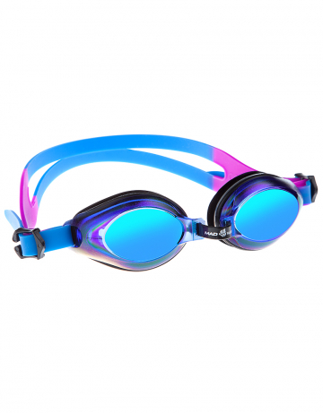 Тренировочные очки для плавания AQUA RainbowТренировочные очки<br>Удобные юниорские очки для повседневных тренировок с зеркальнам покрытием. Защита от ультрафиолетовых лучей. Антизапотевающие стекла. Линзы из поликарбоната. Регулируемая мультиступенчатая переносица. Силиконовый обтюратор и ремешек.<br><br>Размер: None<br>Цвет: Синий