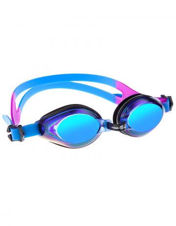 Тренировочные очки для плавания AQUA RainbowТренировочные очки<br>Удобные юниорские очки для повседневных тренировок с зеркальнам покрытием. Защита от ультрафиолетовых лучей. Антизапотевающие стекла. Линзы из поликарбоната. Регулируемая мультиступенчатая переносица. Силиконовый обтюратор и ремешек.<br><br>Цвет: Синий