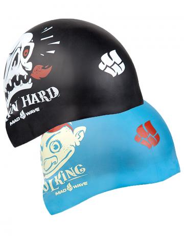 Mad Wave Силиконовая шапочка для плавания POOL KING Reversible