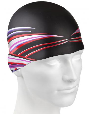 Силиконовая шапочка WAVE