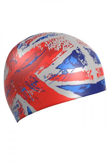 Силиконовая шапочка для плавания UKСиликоновые шапочки<br>Силиконовая шапочка с рисунком.<br><br>Размер: None<br>Цвет: Красный