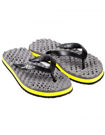 Мужская обувь для бассейна и пляжа AdmiralМужская обувь<br>Тапки с перфорированной подошвой для стока воды. Сделаны из прочной резины.<br><br>Размер: 45<br>Цвет: Серый