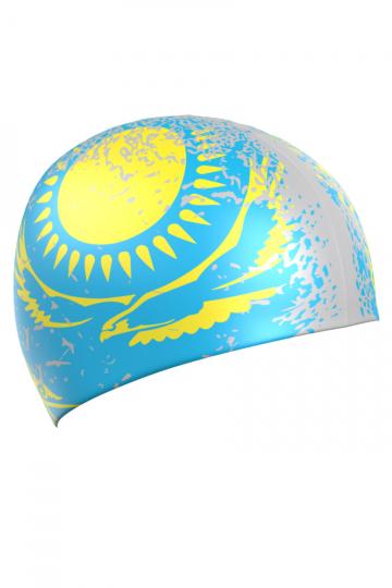 Mad Wave Силиконовая шапочка для плавания KAZAKHSTAN