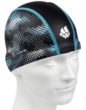 Комбинированные шапочки Mad Wave Hacks M0585 05 0 00WКомбинированные шапочки<br>Текстильная шапочка с полиуретановым покрытием и рисунком. Лёгкая и комфортная.<br><br>Размер: None<br>Цвет: Черный