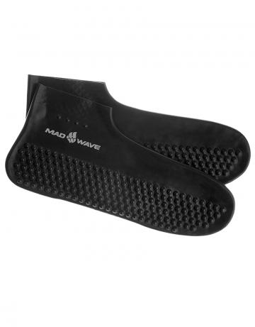 Латексные носки для бассейна SOLIDНоски для бассейна<br>Гигиенические латексные носки.<br><br>Размер INT: XS<br>Цвет: Черный