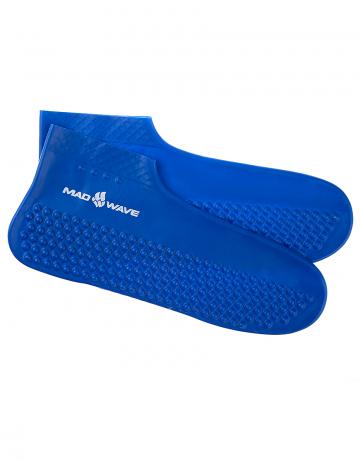 Латексные носки для бассейна SOLIDНоски для бассейна<br>Гигиенические латексные носки.<br><br>Размер INT: M<br>Цвет: Синий