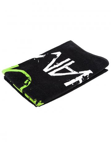 Полотенце для бассейна и пляжа PromoПолотенца<br>Махровое полотенце 330 г/м2<br><br>Размер: 80*160<br>Цвет: Черный