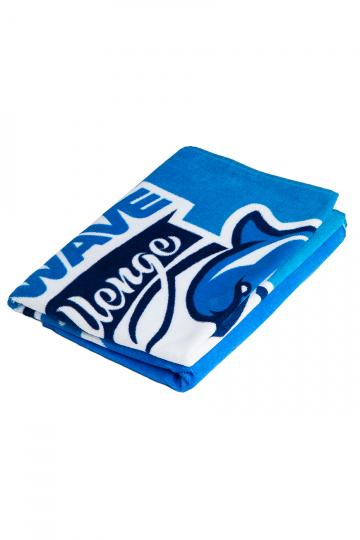 Полотенце для бассейна и пляжа Mad Wave challengeПолотенца<br>Махровое полотенце 330 г/м2.<br><br>Размер: 70*140<br>Цвет: Голубой