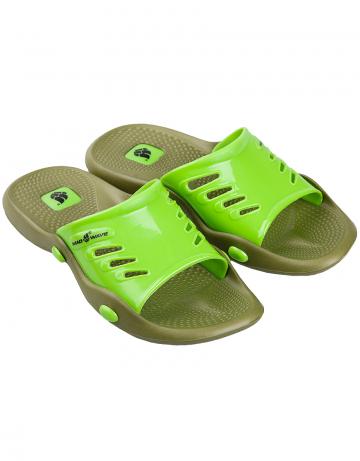 Мужская обувь для бассейна и пляжа Standart IIМужская обувь<br>Тапки для бассейна.<br><br>Размер: 44<br>Цвет: Хаки