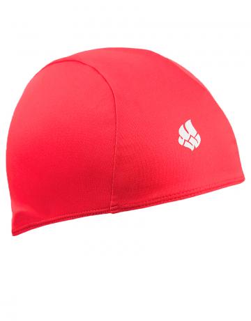 Текстильная шапочка для плавания POLYТекстильные шапочки<br>Текстильная шапочка. Лёгкая и комфортная.<br><br>Цвет: Красный