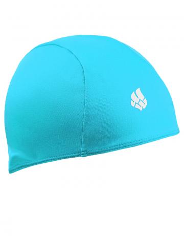 Текстильная шапочка для плавания POLYТекстильные шапочки<br>Текстильная шапочка. Лёгкая и комфортная.<br><br>Цвет: Бирюзовый