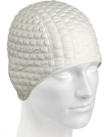Резиновая шапочка CANDY BUBBLEРезиновые шапочки<br>Откройте для себя ассортимент резиновых шапочек Mad Wave!  Изготовлена из высококачественной резины , эта шапочка является идеальным выбором для регулярных тренировок в бассейне . Эргономичная форма обеспечит точную и надежную фиксацию .<br><br>Цвет: Белый
