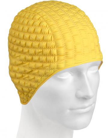Резиновая шапочка CANDY BUBBLEРезиновые шапочки<br>Откройте для себя ассортимент резиновых шапочек Mad Wave!  Изготовлена из высококачественной резины , эта шапочка является идеальным выбором для регулярных тренировок в бассейне . Эргономичная форма обеспечит точную и надежную фиксацию .<br><br>Цвет: Желтый