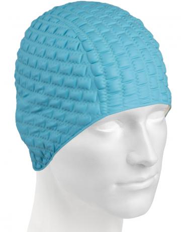 Резиновая шапочка CANDY BUBBLEРезиновые шапочки<br>Откройте для себя ассортимент резиновых шапочек Mad Wave!  Изготовлена из высококачественной резины , эта шапочка является идеальным выбором для регулярных тренировок в бассейне . Эргономичная форма обеспечит точную и надежную фиксацию .<br><br>Цвет: Бирюзовый