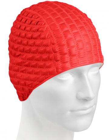 Резиновая шапочка CANDY BUBBLEРезиновые шапочки<br>Откройте для себя ассортимент резиновых шапочек Mad Wave!  Изготовлена из высококачественной резины , эта шапочка является идеальным выбором для регулярных тренировок в бассейне . Эргономичная форма обеспечит точную и надежную фиксацию .<br><br>Цвет: Красный