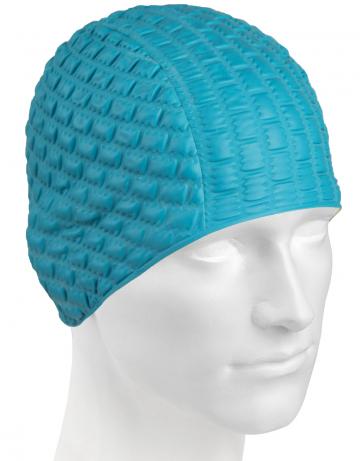 Резиновая шапочка CANDY BUBBLEРезиновые шапочки<br>Откройте для себя ассортимент резиновых шапочек Mad Wave!  Изготовлена из высококачественной резины , эта шапочка является идеальным выбором для регулярных тренировок в бассейне . Эргономичная форма обеспечит точную и надежную фиксацию .<br><br>Цвет: Синий
