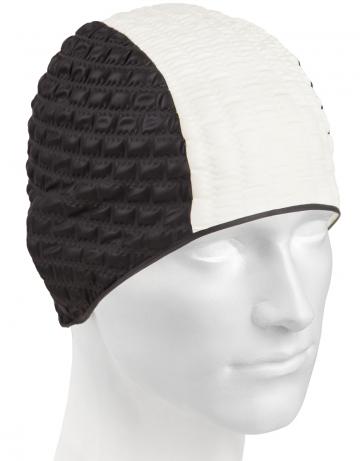 Резиновая шапочка CANDY BUBBLEРезиновые шапочки<br>Откройте для себя ассортимент резиновых шапочек Mad Wave!  Изготовлена из высококачественной резины , эта шапочка является идеальным выбором для регулярных тренировок в бассейне . Эргономичная форма обеспечит точную и надежную фиксацию .<br><br>Цвет: Черный