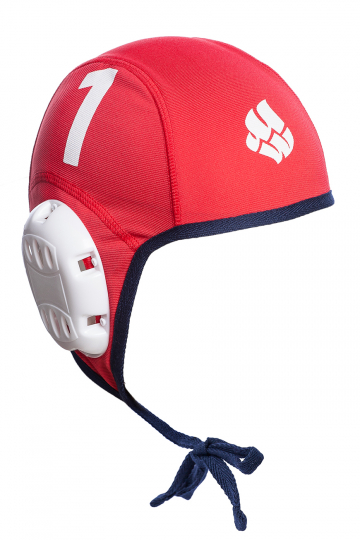 Шапочка для водного поло WATERPOLO CAPSШапочки<br><br><br>Цвет: Красный