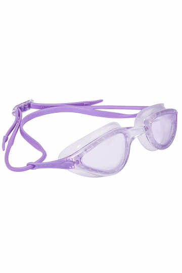 Тренировочные очки для плавания FITТренировочные очки<br>Женские очки FIT от Mad Wave отлично подойдут к регулярным тренировкам в бассейне. Комфортная посадка, обеспеченная высоким анатомическим обтюратором и двойным силиконовым ремешком, надежно защитит глаза от протекания и предотвратит появление кругов вокруг глаз даже при длительном использовании. Линзы с защитой от ультрафиолета и покрытием от запотевания Антифог.<br><br>Цвет: Фиолетовый