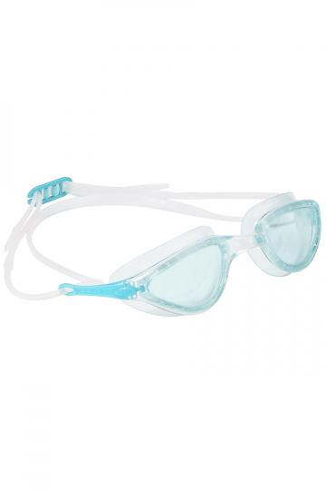 Тренировочные очки для плавания FITТренировочные очки<br>Женские очки FIT от Mad Wave отлично подойдут к регулярным тренировкам в бассейне. Ультракомфортабельная посадка, обеспеченная высоким анатомическим обтюратором и двойным силиконовым ремешком, надежно защитит глаза от протекания и предотвратит появление кругов вокруг глаз даже при длительном использовании. Линзы с защитой от ультрафиолета и покрытием от запотевания Антифог.<br><br>Размер: None<br>Цвет: Бирюзовый