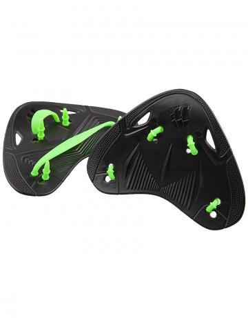 Лопатки для плавания FINGER PROЛопатки для плавания<br>Лопатки Finger Pro Paddles разработаны на основе биодизайна, что позволяет спортсменам совершенствовать технику гребка, не нарушая естественную механику движений. Особая эргономичная форма позволяет снизить нагрузку на суставы.<br><br>Размер: one size<br>Цвет: Черный