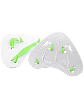 Лопатки для плавания FINGER PROЛопатки для плавания<br>Лопатки Finger Pro Paddles разработаны на основе биодизайна, что позволяет спортсменам совершенствовать технику гребка, не нарушая естественную механику движений. Особая эргономичная форма позволяет снизить нагрузку на суставы.<br><br>Размер: one size<br>Цвет: Белый