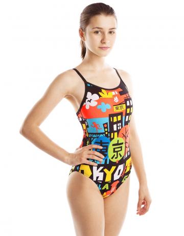 Детский купальник CITYЮниорские купальники<br><br><br>Размер: M<br>Цвет: Разноцветный