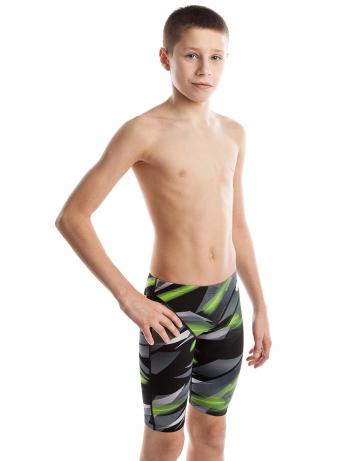 Детские плавки шорты LASERЮниорские плавки и шорты<br>Джаммеры с заниженной талией. Внутри пояса шнурок. Высота бокового шва - 35 см.<br>Серия ткани Training. Подходят для регулярных тренировок.<br><br>Размер: L<br>Цвет: Черный
