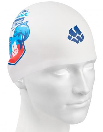 Mad Wave Challenge MW CHALLENGEMad Wave Challenge<br>Силиконовая шапочка с рисунком.<br><br>Цвет: Белый