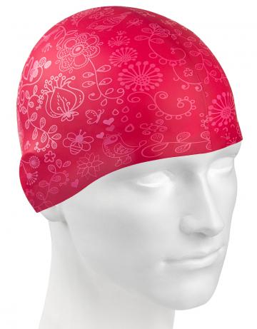 Силиконовая шапочка для плавания JUNGLE. Производитель: Mad Wave, артикул: 10020158