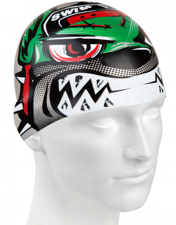 Силиконовая шапочка для плавания BULLDOGСиликоновые шапочки<br><br><br>Размер: None<br>Цвет: Серый