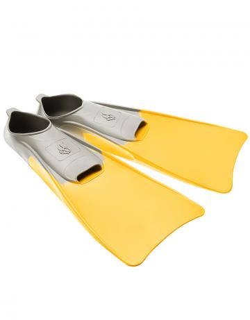 Ласты для плавания в бассейне POOL COLOUR LONGЛасты для плавания<br>Резиновые тренировочные ласты. Каждый цвет ласты соответствует определенному размеру для удобства группового использования в бассейне<br><br>Размер RU: 30-33<br>Цвет: Желтый